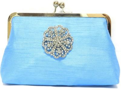 Saint Pure Women Casual, Party Blue  Clutch