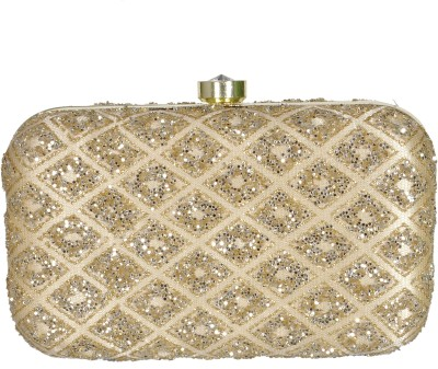 Duchess Women Wedding, Casual, Party Beige  Clutch