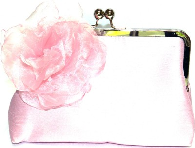 Saint Pure Women Casual, Party Pink  Clutch