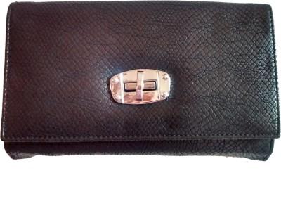Fiable Formal Black  Clutch at flipkart