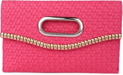 Brendon U.K Women Casual Pink  Clutch