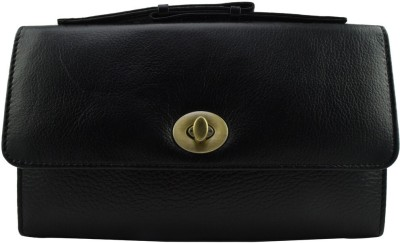 Moochies Women Formal Black  Clutch