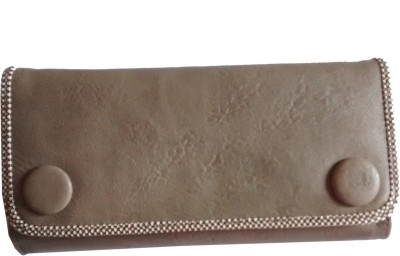 Fiable Formal Grey  Clutch at flipkart