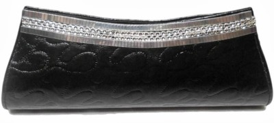 MTE Women Casual, Party Black  Clutch