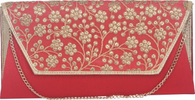 Sunbeams Women Casual Red  Clutch