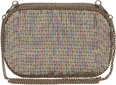 The Indian Handicraft Store Women Party Multicolor  Clutch
