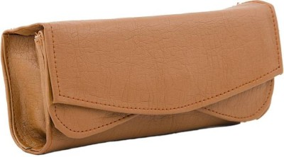 Rapidcostore Women Wedding, Casual, Party, Formal, Sports, Festive Tan  Clutch