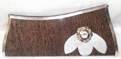 MTE Women Casual, Formal, Party Brown  Clutch
