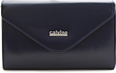 Calvino Women Casual, Party Blue  Clutch