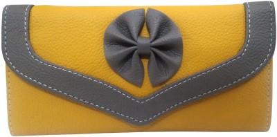 Look-Kool Women Casual, Party, Formal, Festive Yellow  Clutch