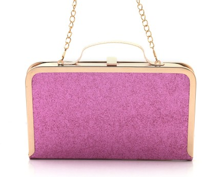 Foolzy Women Party Gold  Clutch