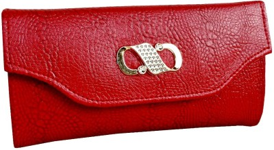 Pellcaso Women Formal, Party, Wedding, Casual, Festive Red  Clutch