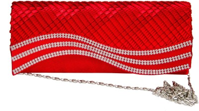 Fashion Knockout Women Casual Red  Clutch