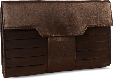 Baggit Party Brown  Clutch