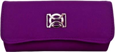 Purseonality Women Casual, Formal Purple, Blue  Clutch