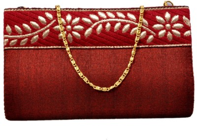 Duchess Women Wedding, Casual, Party Maroon  Clutch