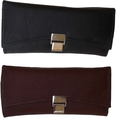 Goldeno Women Casual Black, Brown  Clutch