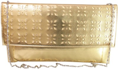 Lion Heart Women Party, Wedding Gold  Clutch