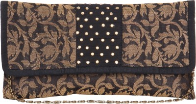 Sunbeams Women Black  Clutch