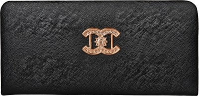 Costa Swiss Women Wedding, Casual, Party, Formal, Festive Black  Clutch  available at flipkart for Rs.269
