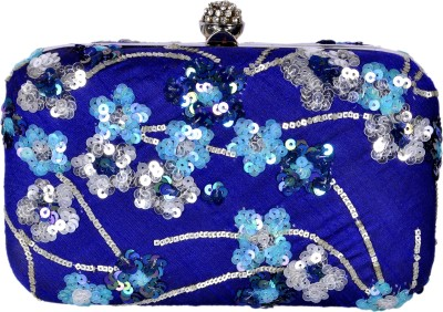 Duchess Women Party, Wedding, Party Blue  Clutch