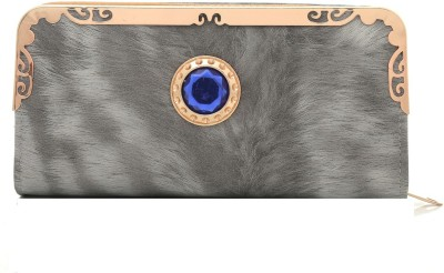 Foolzy Party Grey  Clutch at flipkart