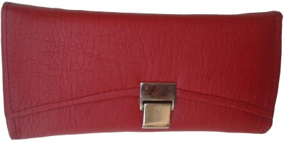 Goldeno Women Casual Red  Clutch
