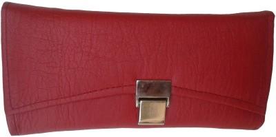 Goldeno Women Casual Red  Clutch