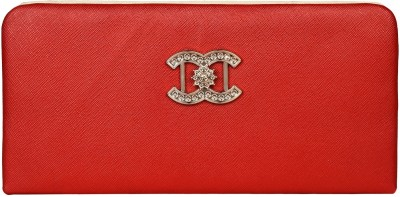 Costa Swiss Women Wedding, Casual, Party, Formal, Festive Red  Clutch  available at flipkart for Rs.249