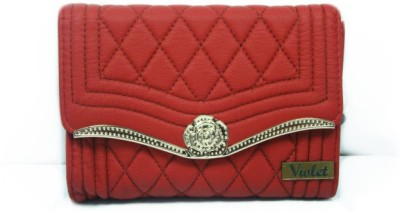 Violet Women Party, Wedding, Formal Red  Clutch