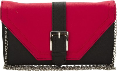 Fashion Knockout Women Casual Black, Red  Clutch