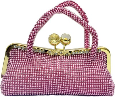Russo Fashion Women Party, Casual Pink  Clutch