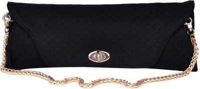 Just Women Women Casual, Formal Black  Clutch