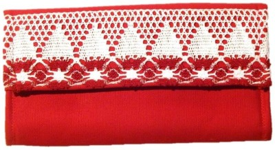 Avni Women Casual Red  Clutch