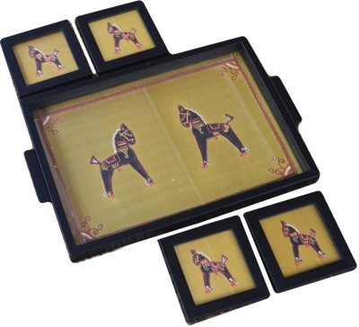 Craftghar Ashv Tray(5 Units) at flipkart