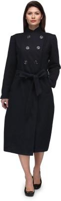 Natty India Wool Blend Solid Coat at flipkart