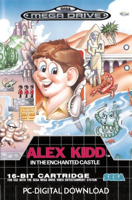 Alex Kidd in the Enchanted Castle(Digital Code Only - for PC)