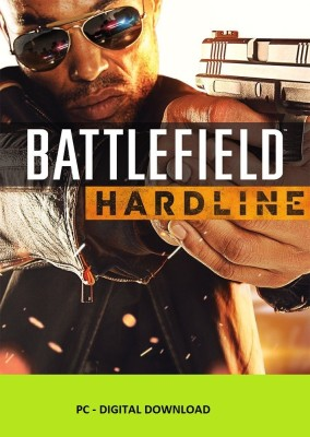 Battlefield Hardline Digital Edition(Code in the Box - for PC) at flipkart