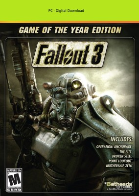 Fallout 3 - Game of the Year Edition(Code in the Box - for PC)