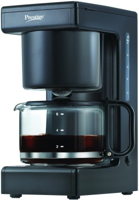 Prestige Electric drip PCMD 1.0 4 cups Coffee Maker(Black)  available at flipkart for Rs.1354
