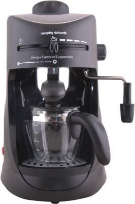 Morphy Richards Europa Espresso / Cappuccino CM 4 Cups Coffee Maker Image