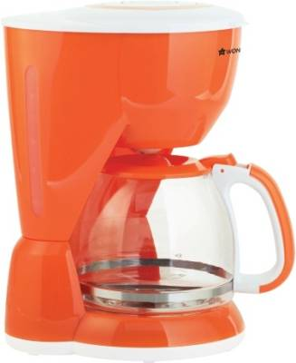 Wonderchef 63151724 10 cups Coffee Maker (Orange)
