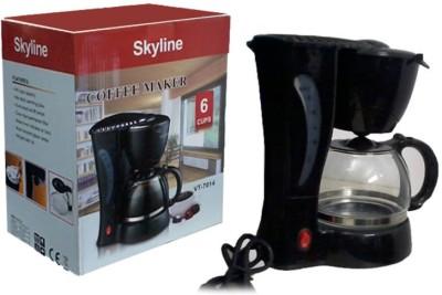 Skyline VTL-7014 6 cups Coffee Maker(Black)