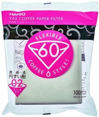 Hario VCF-02-100W 4 cups Coffee Maker(White)