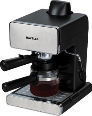 Havells Donato Espresso Coffee Maker(Stainless Steel, Black)