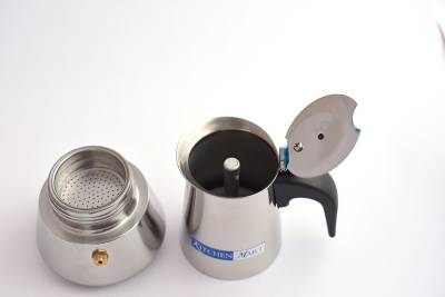 Kitchen Mart Percolator 220 ml 2 cups Coffee Maker