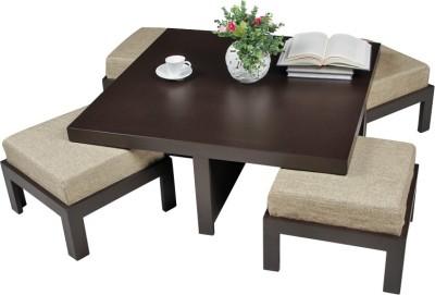 ARRA Engineered Wood Coffee Table(Finish Color - Jute)