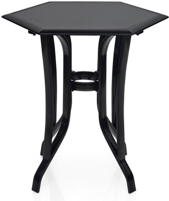 @home by Nilkamal Metal Coffee Table(Finish Color - Black)