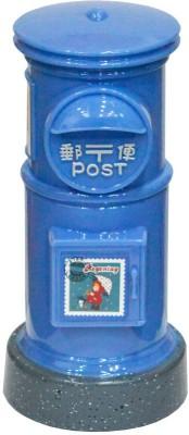My Hitech Kitchen Post Money Box (Round) Coin Bank(Blue)