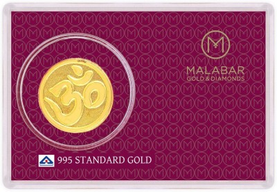 MALABAR GOLD   DIAMONDS MGOM995C 24  995  K 0.45 g Gold Coin